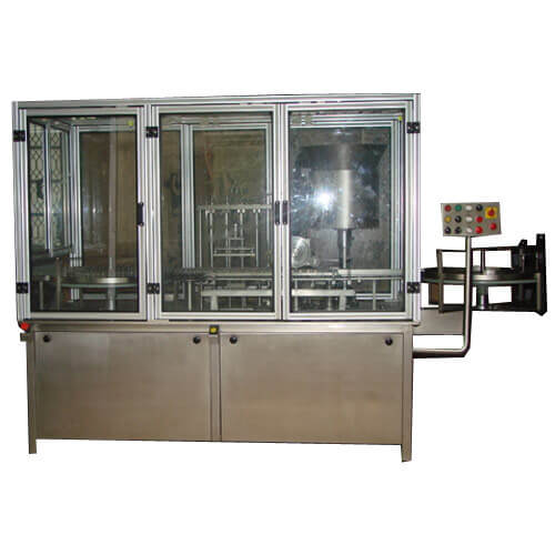 >Vial Filling With Stoppering  And Cap Sealing Machine – Monoblock Manufacturers & Exporters from India