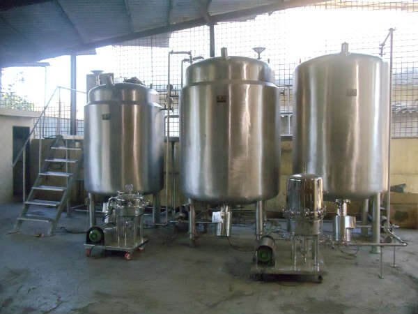 Oral Liquid Manufacturing Plant - 20000 Ltr
