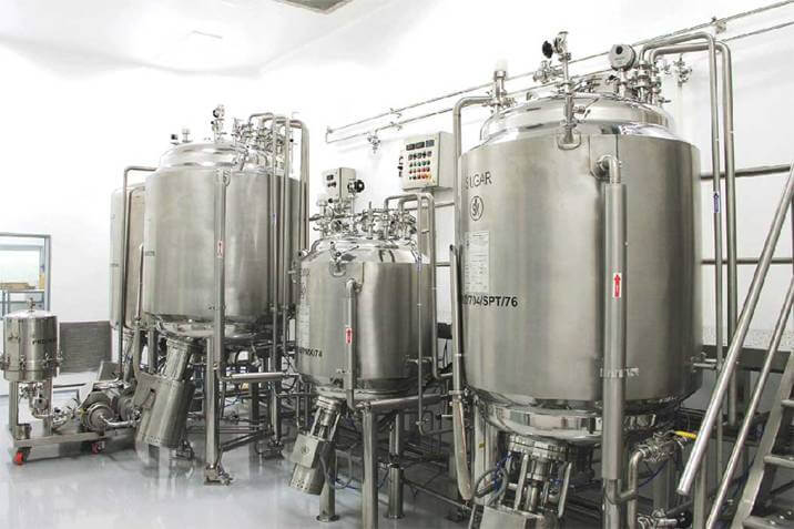 Oral Liquid Manufacturing Plant - 4500 Ltr