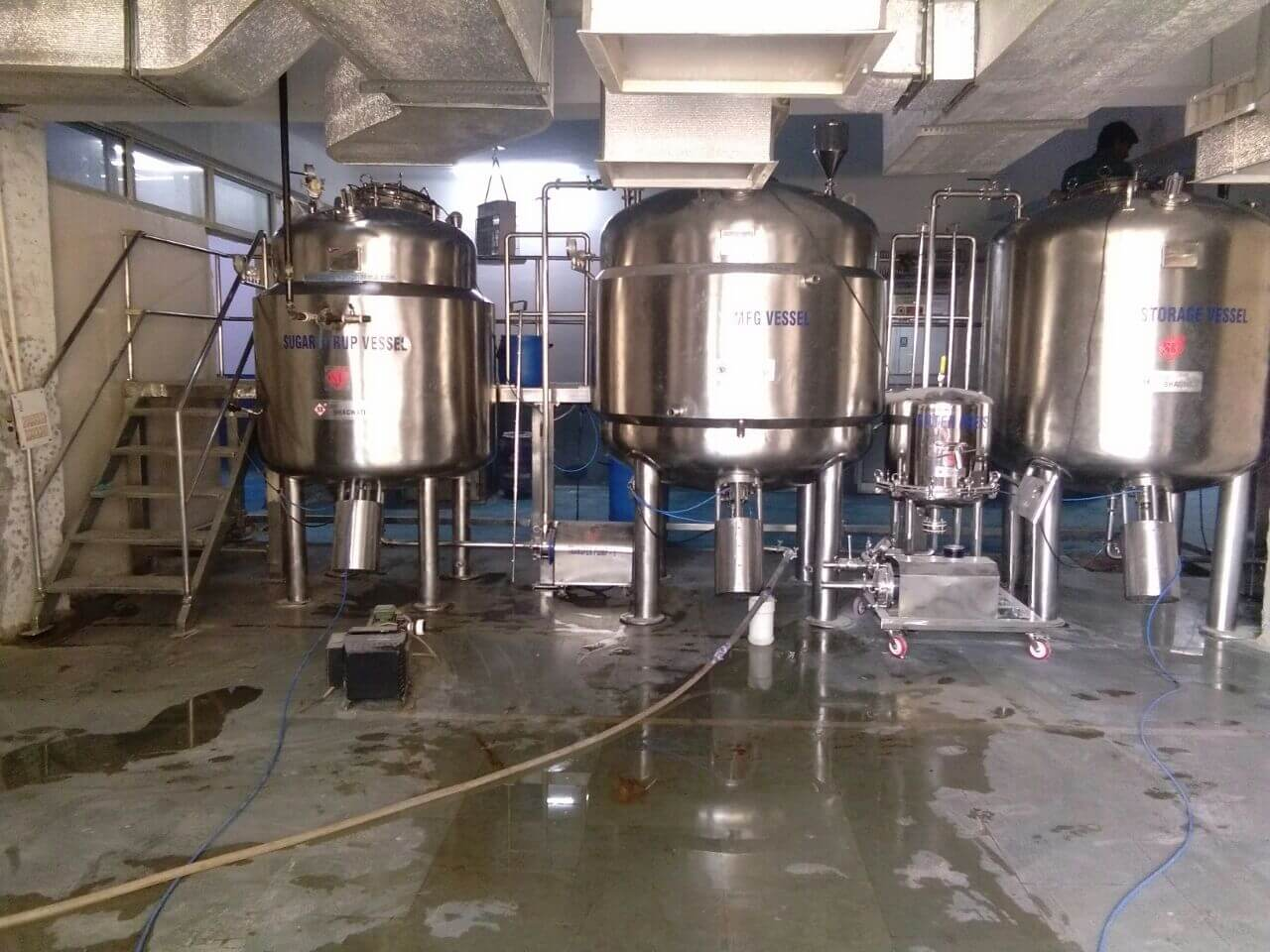 Oral Liquid Manufacturing Plant - 30000 Ltr