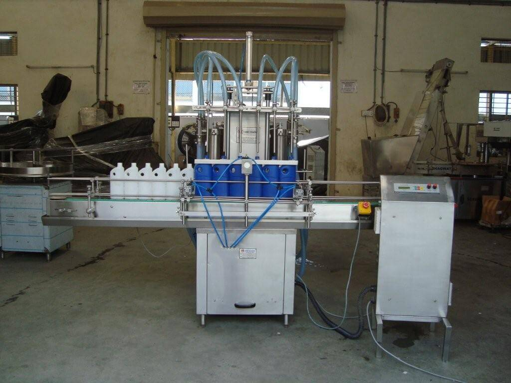 Cleaner Filling Machine