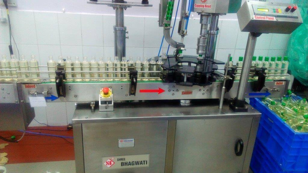 Shampoo Filling Capping Machine