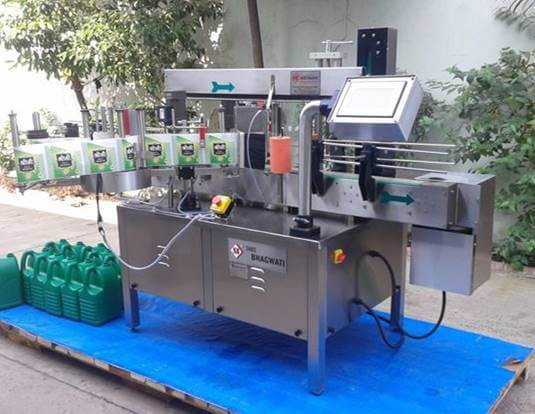 Automatic Self Adhesive Labeling  Machine: Double Side