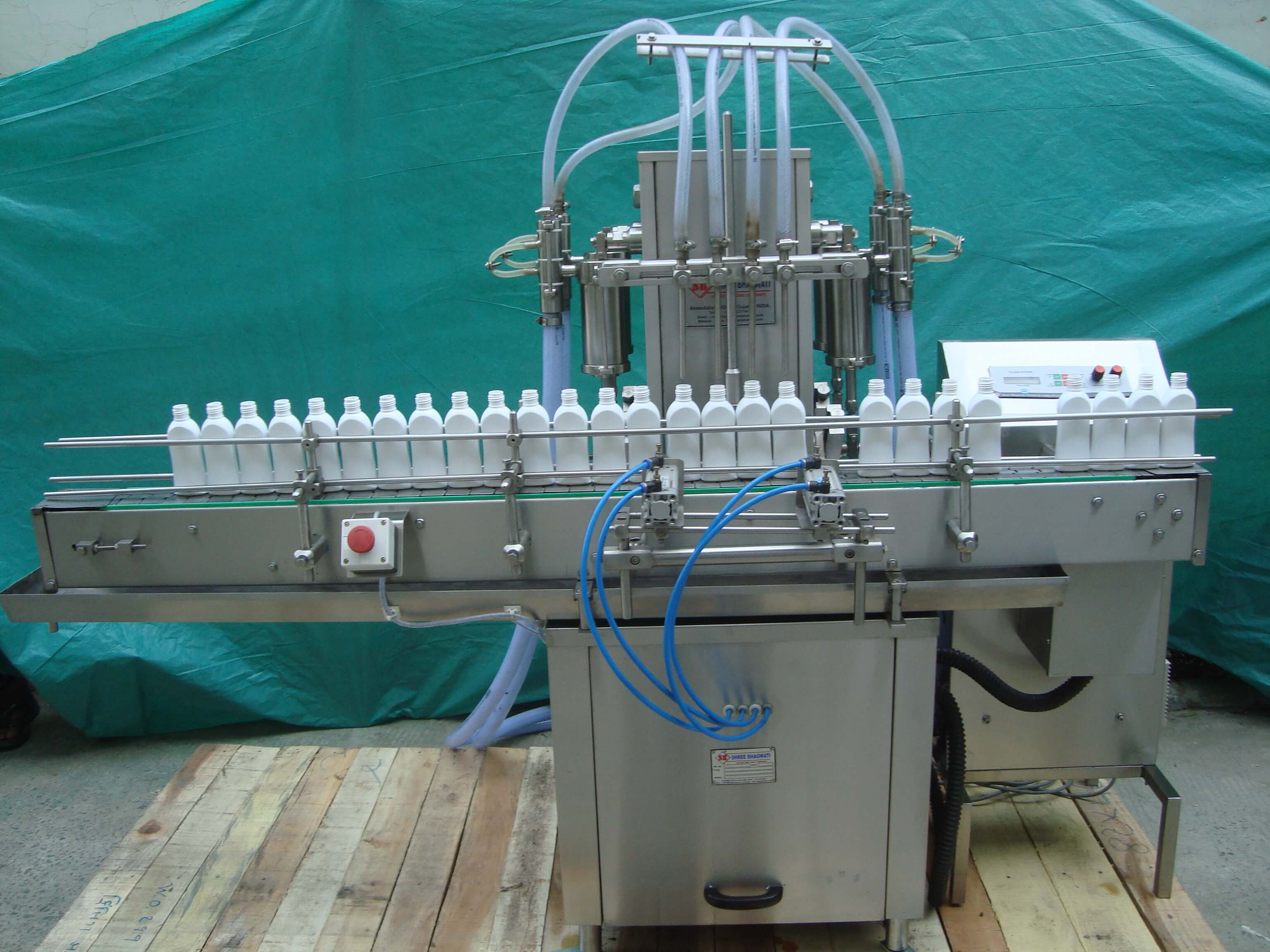 Machine for Shampoo Flat Bottle